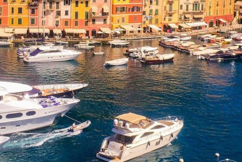 yacht rent on Portofino